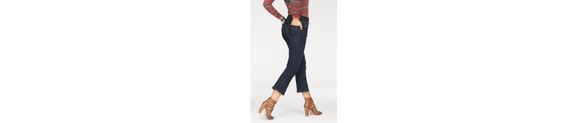 Arizona Bootcut-Jeans 7/8 Kick-Flare, High Waist