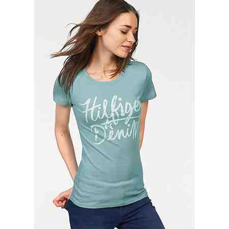 Hilfiger Denim T-Shirt mit Vintage Frontprint