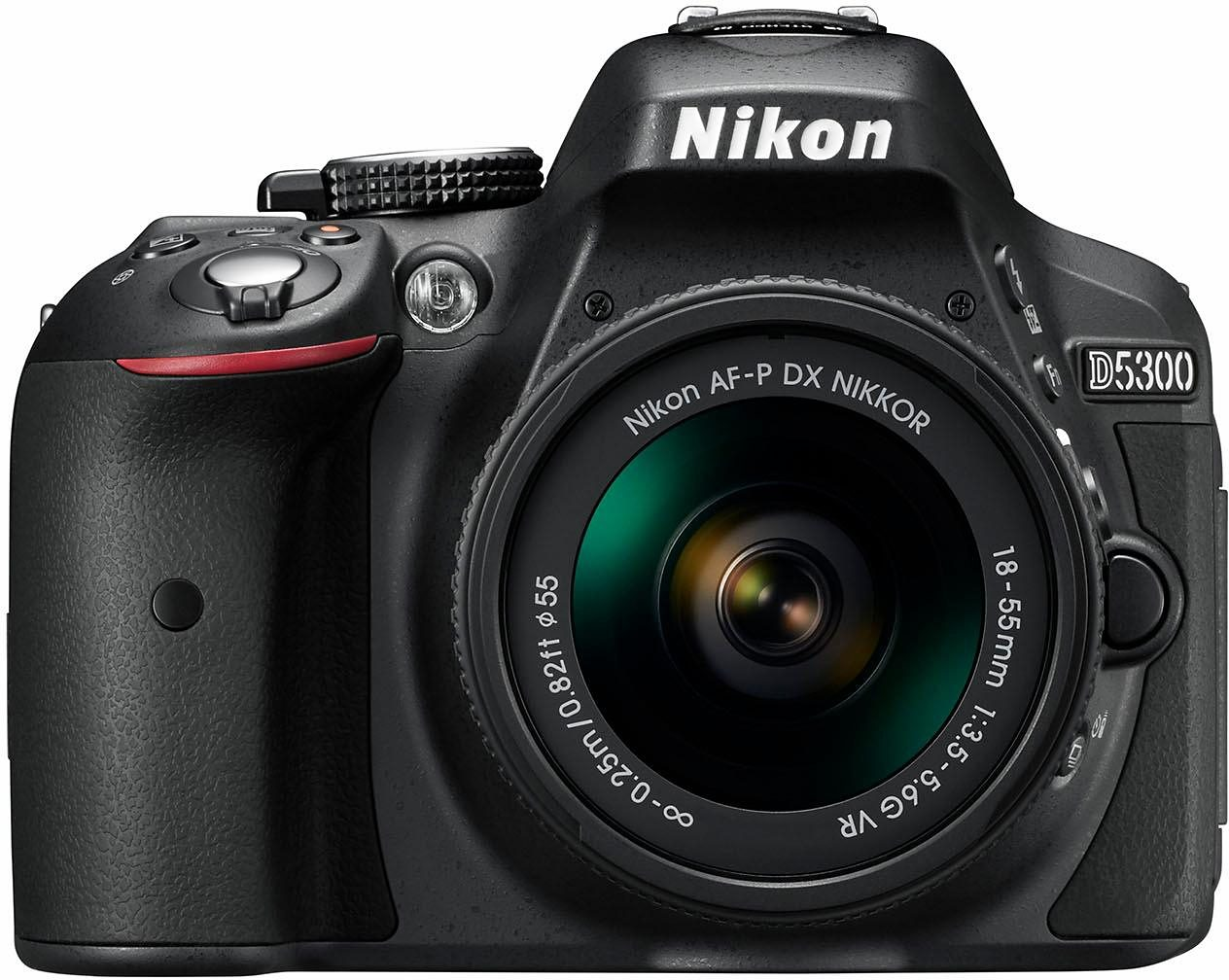 Nikon D5300 Kit Spiegelreflex Kamera, AF-P 18-55 VR Zoom, 24,2 MP