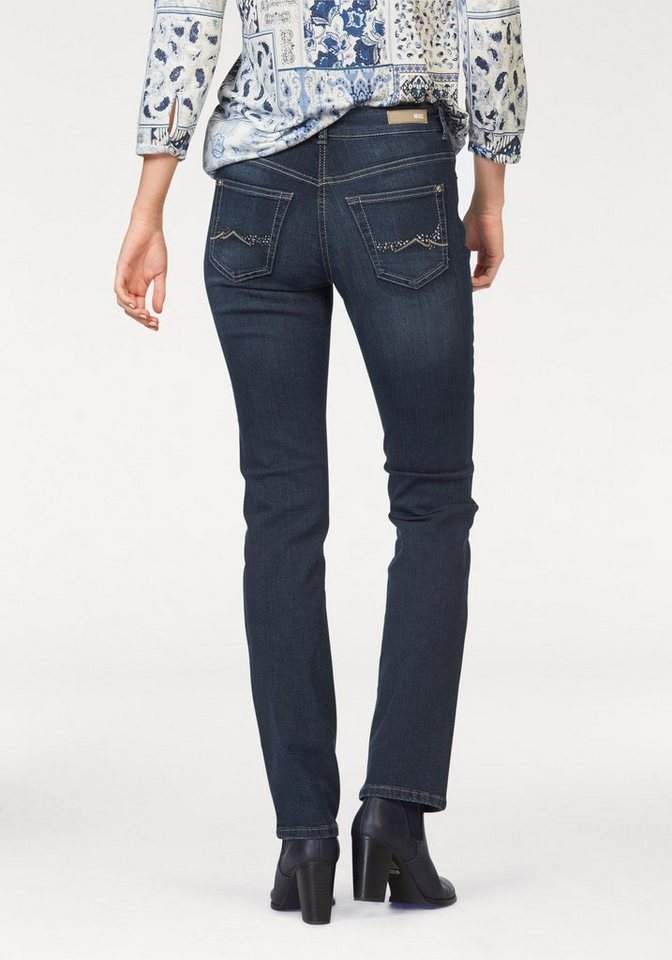mac 5 pocket jeans angela glam pocket glitzersteinchen. Black Bedroom Furniture Sets. Home Design Ideas