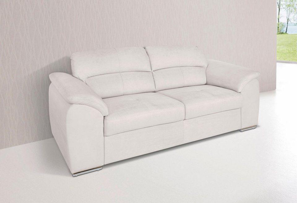 Cotta 3-Sitzer in creme