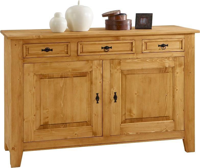 Premium collection by Home affaire Sideboard »Cornwall«, Breite 151 cm in natur gewachst