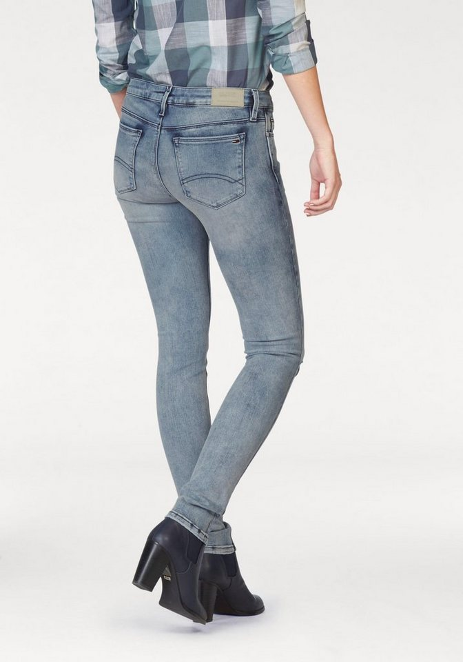 Hilfiger Denim Skinny-fit-Jeans »Nora« mit cut-out in dynamic-shore-indigo
