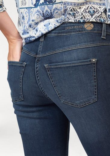 Mac 5-pocket Jeans Dream, Highly Elastic Material Provides The Perftekten Seat