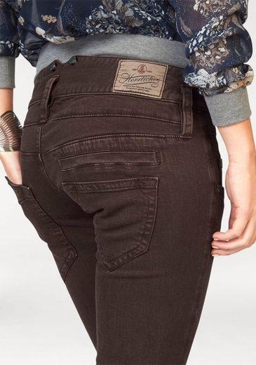 Herrlicher Straight-Jeans Pitch Straight, mit Stretch-Anteil
