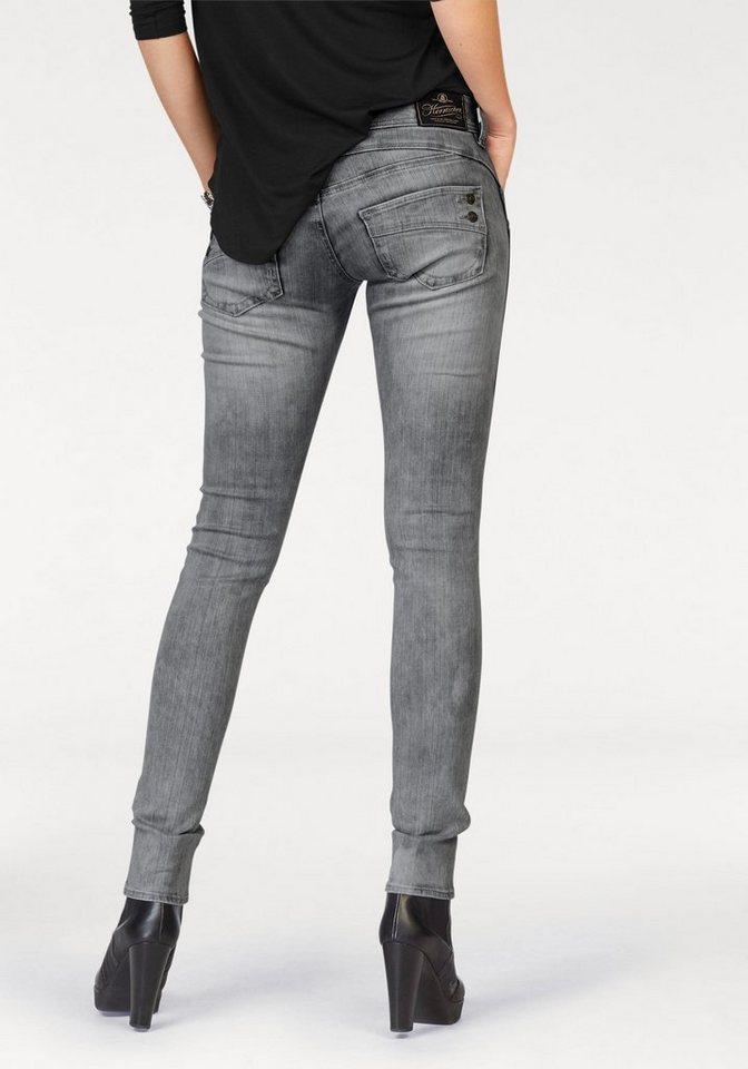 herrlicher slim fit jeans piper slim comfort mit dekokn pfen hinten online kaufen otto. Black Bedroom Furniture Sets. Home Design Ideas