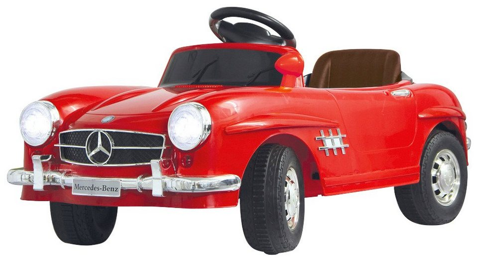 Elektro Kinderauto »Ride-On Mercedes 300SL« in rot 27 MHz in rot