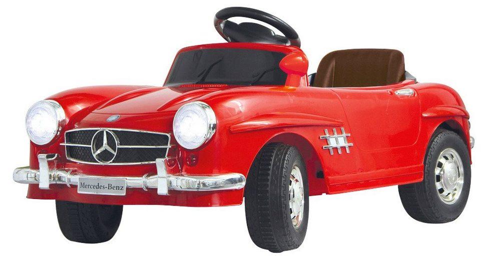 Elektro Kinderauto »Ride-On Mercedes 300SL« in rot 27 MHz