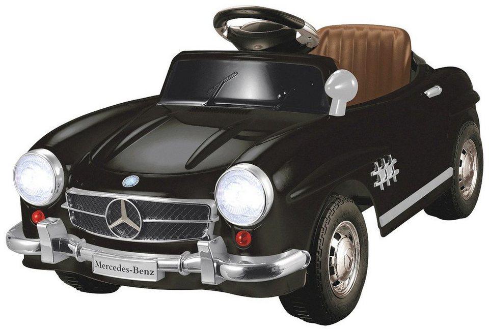 Elektro Kinderauto »Ride-On Mercedes 300SL« in schwarz 27 MHz in schwarz