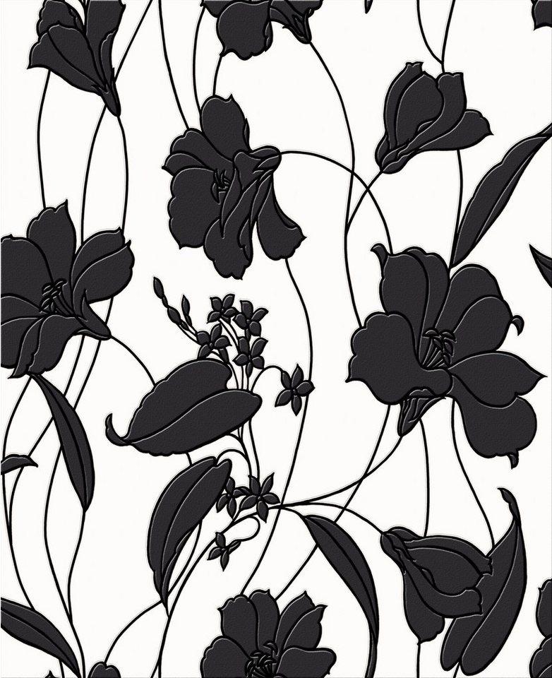 Papiertapete »Marylou« in schwarz