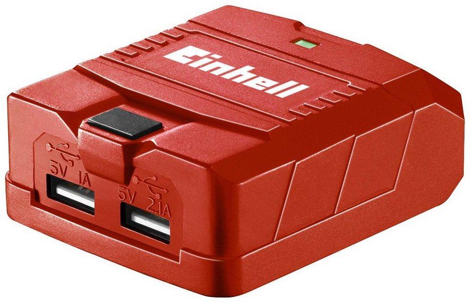 Ladegerät »TE-CP 18 Li USB-Solo«, Power X-Change Serie, OHNE AKKU in rot