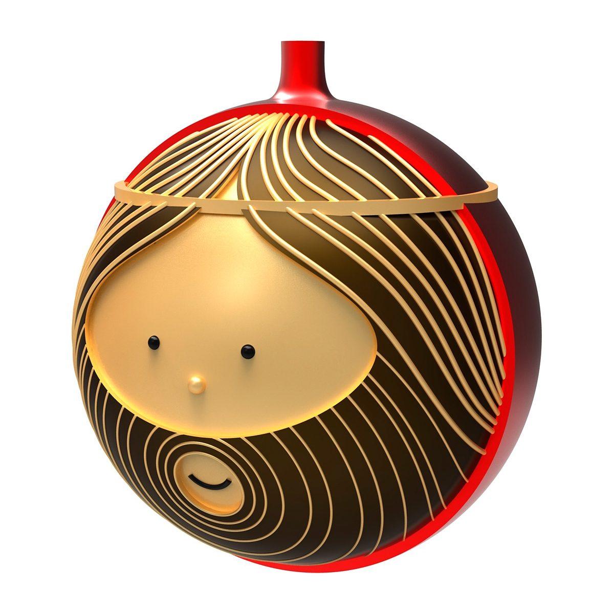 Alessi Alessi Weihnachtsbaumkugel GIUSEPPE