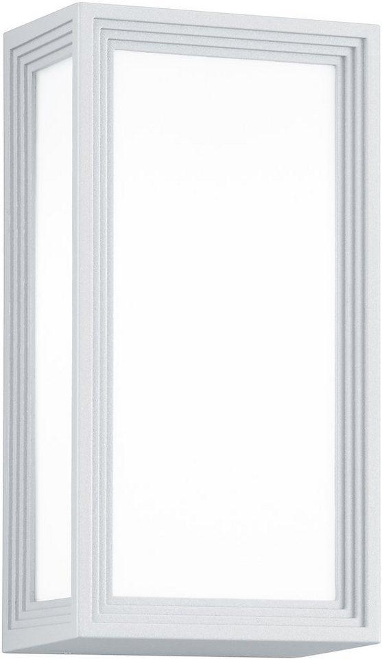 Trio LED Außenleuchte, 1flg., Wandleuchte, »TIMOK« in Aluminium Druckguss, weiß