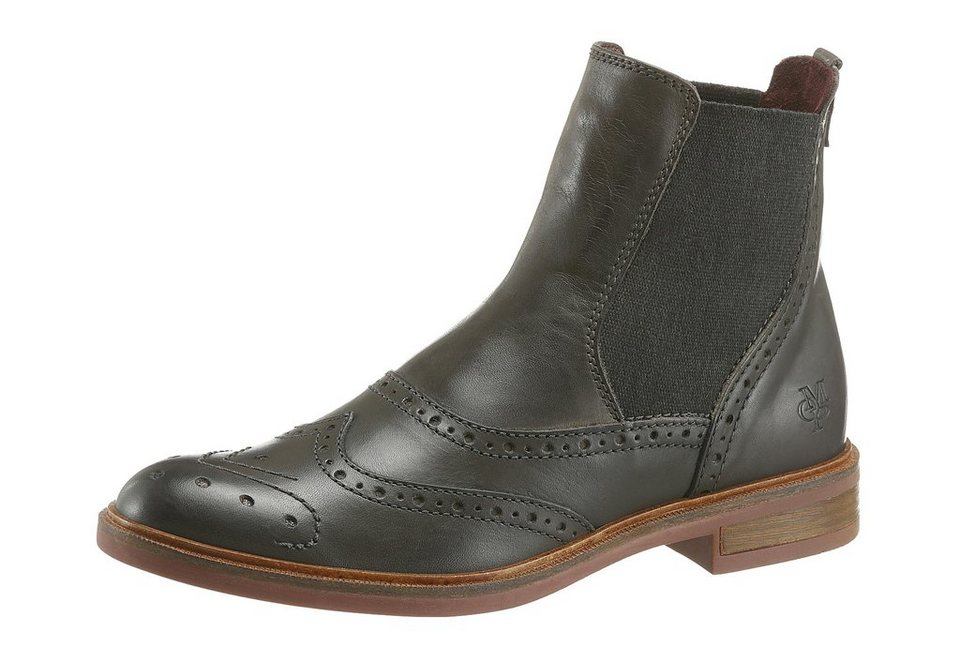 Marc O'Polo Chelseaboots in grau