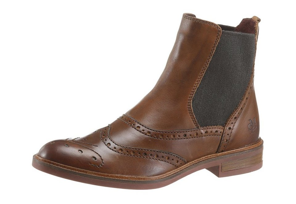 Marc O'Polo Chelseaboots in braun