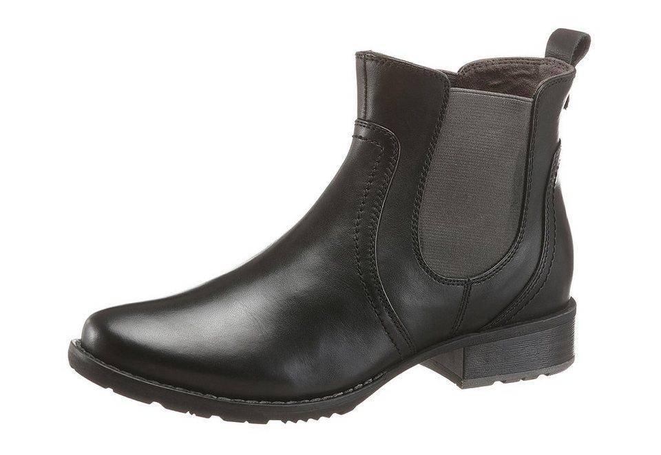 Jana Chelseaboots in schwarz