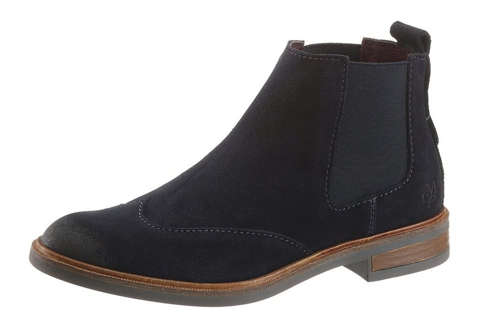 Marc O'Polo Chelseaboots in blau