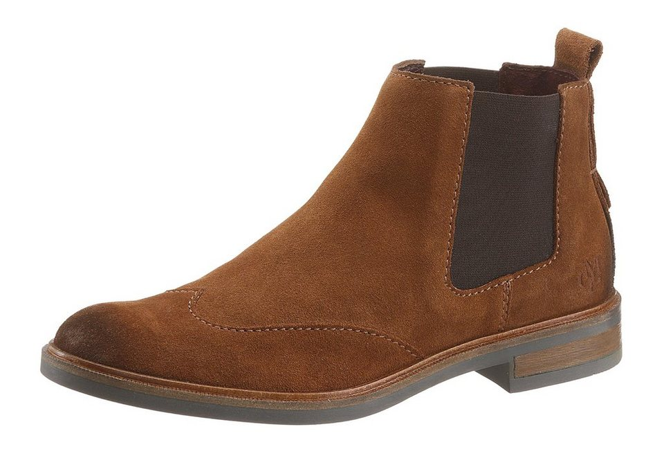 Marc O'Polo Chelseaboots in cognac