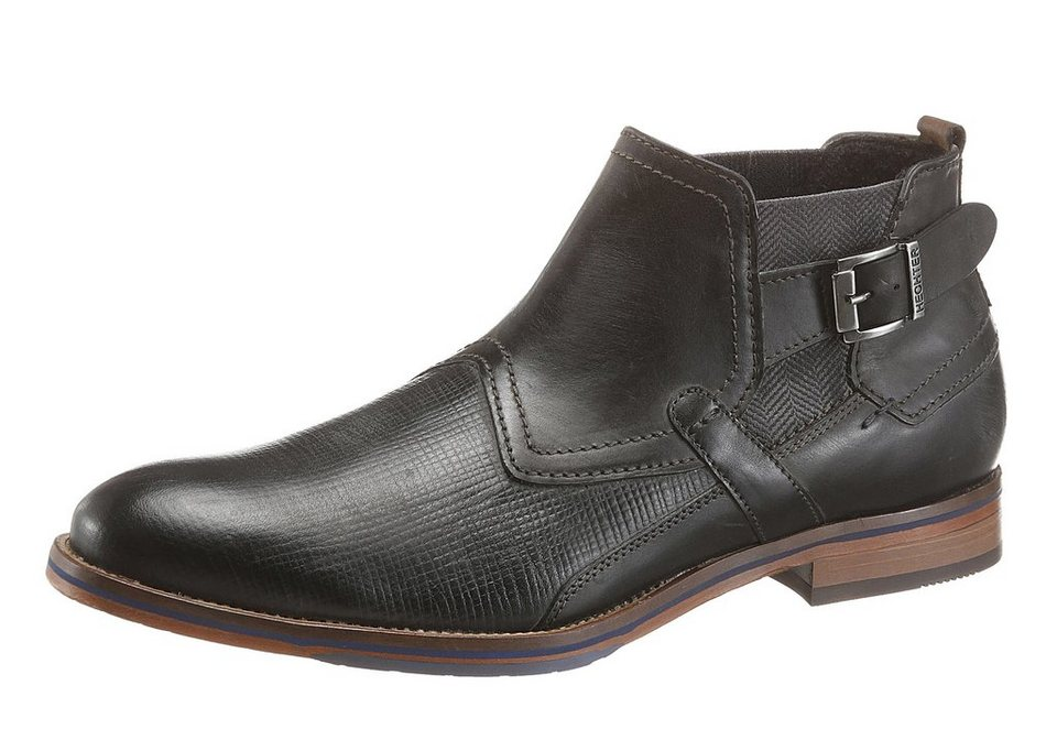 Daniel Hechter Stiefelette in anthrazit-used