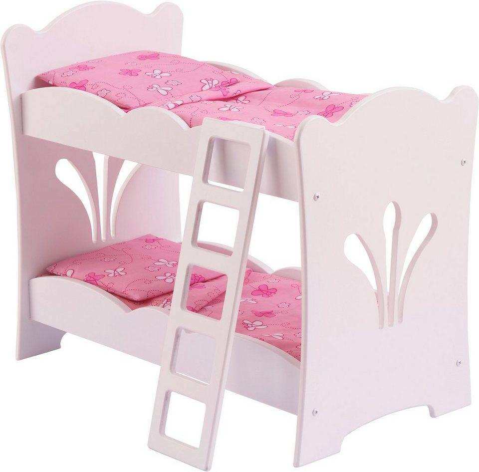 KidKraft® Puppenstockbett mit Leiter, »Lily«