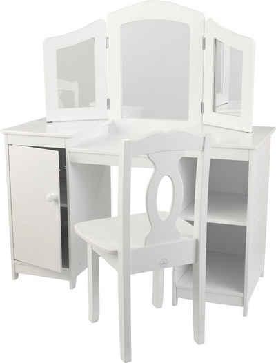 KidKraft Luxus-Frisiertisch für Mädchen mit Stuhl Sale Angebote Großräschen