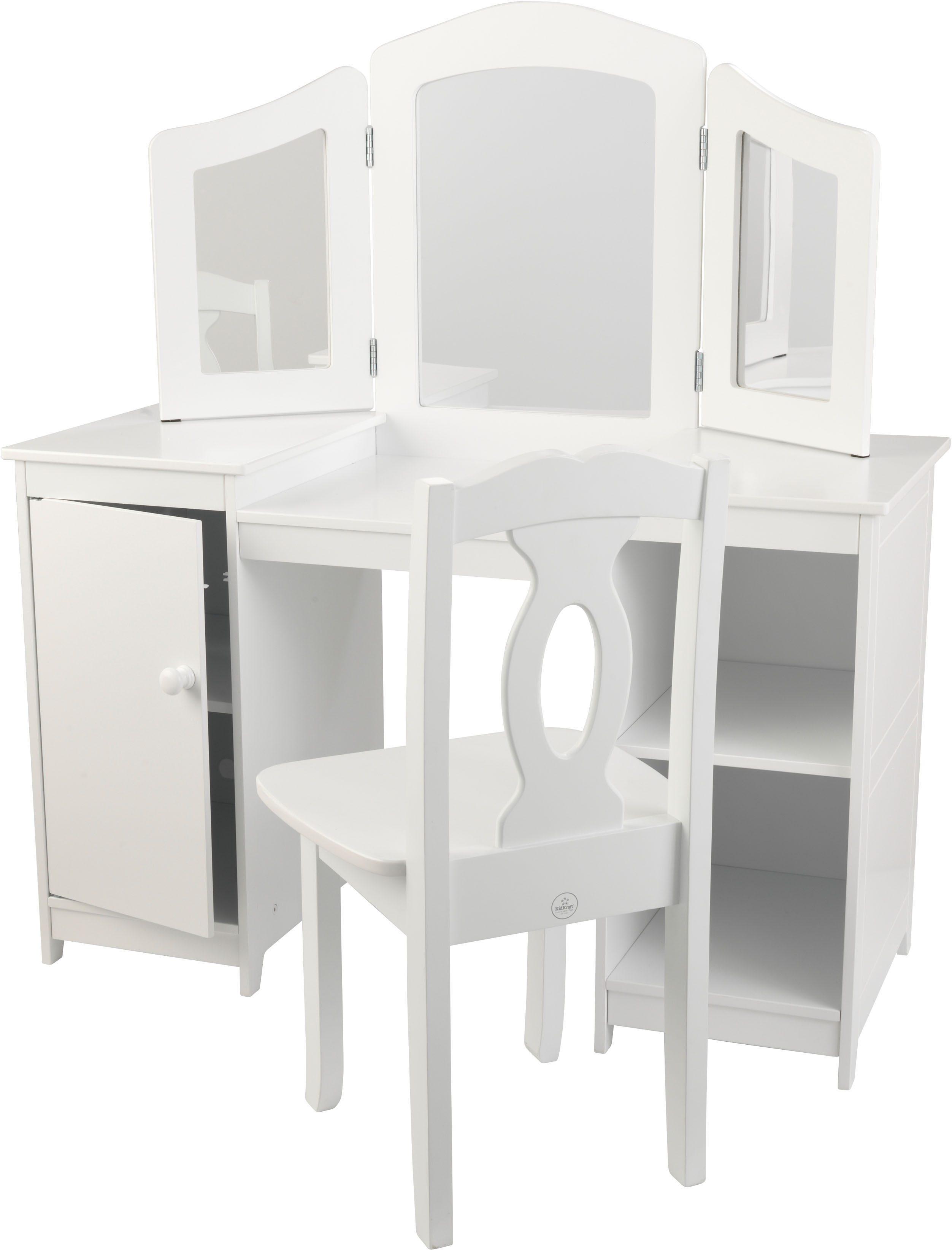 KidKraft® Luxus-Frisiertisch für Mädchen mit Stuhl