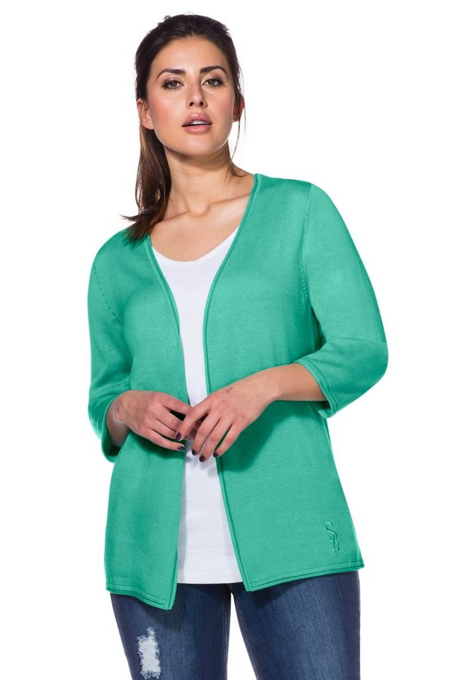 sheego Trend Cardigan in mint