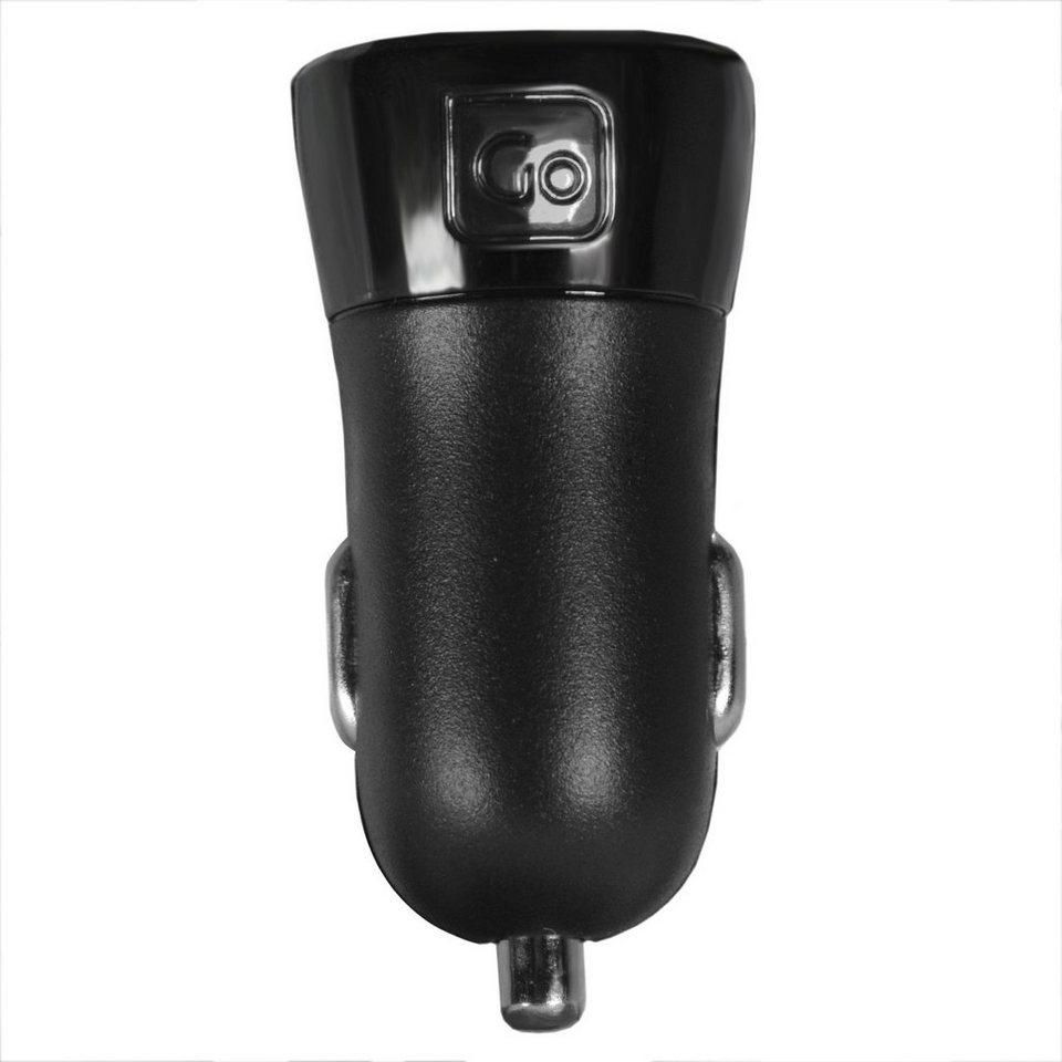 Go Travel Elektro + Elektronikgeräte USB Auto-Ladegerät 4,2A in schwarz