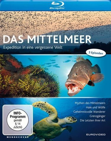 Blu-ray »Expedition Mittelmeer - Expedition in eine...«