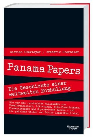 Broschiertes Buch »Panama Papers«