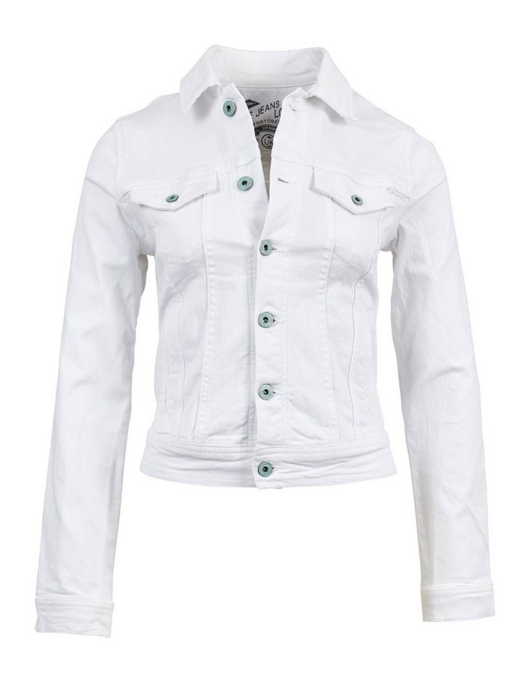 Pepe Jeans Jacke »CORE JACKET« in weiß