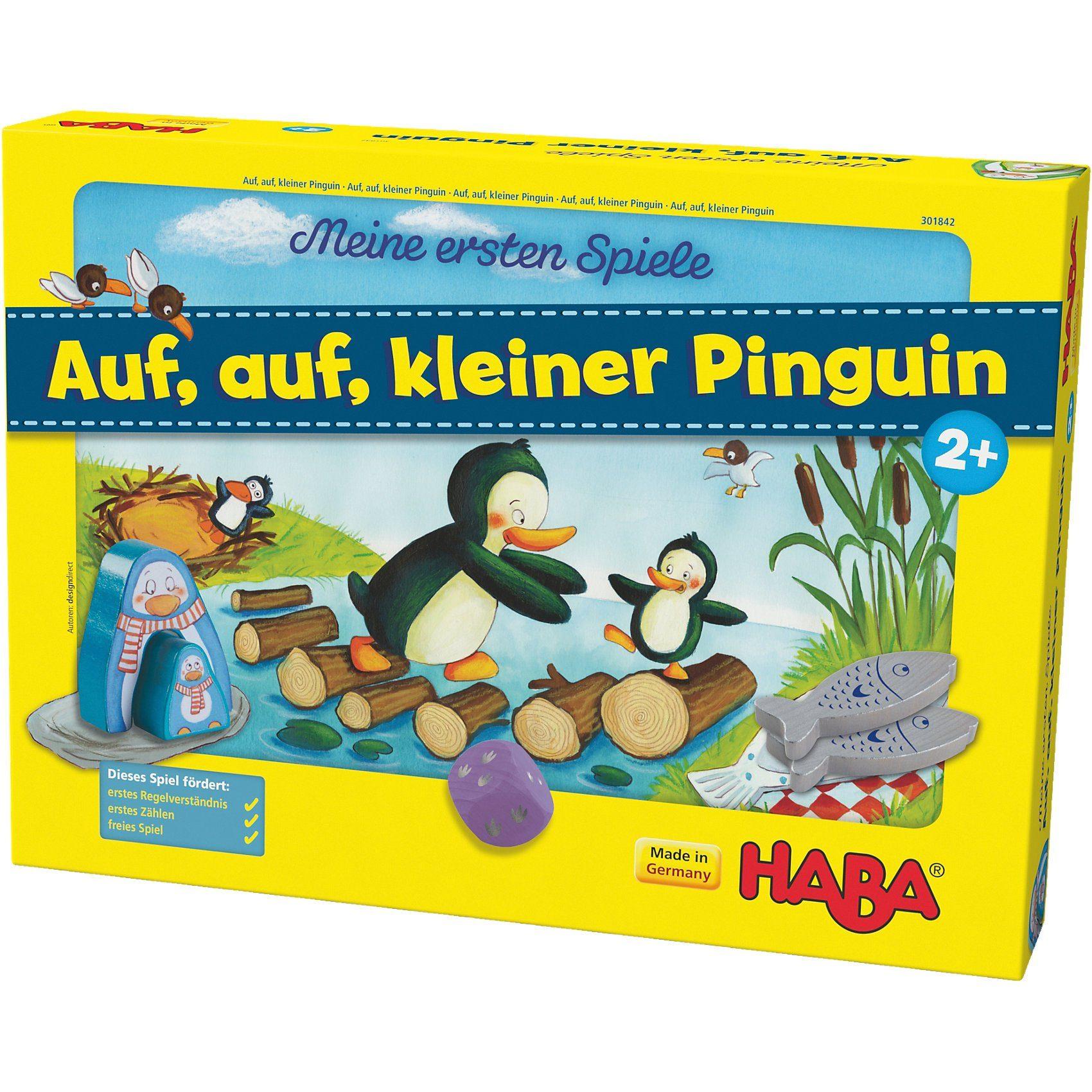 Haba Meine ersten Spiele - Auf, auf, kleiner Pinguin