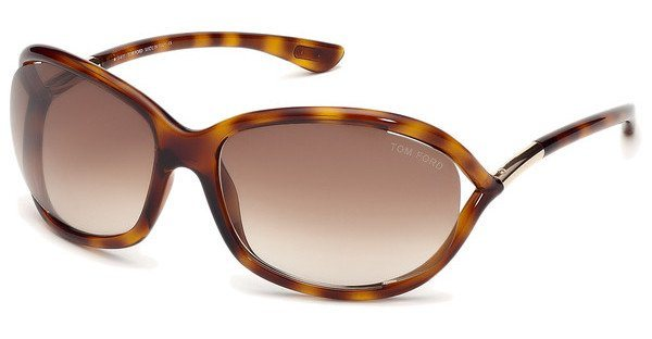 Tom Ford Damen Sonnenbrille »Jennifer FT0008« in 52F - braun/braun