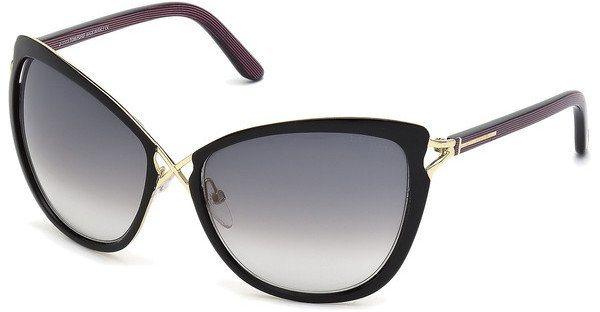 Tom Ford Damen Sonnenbrille »Celia FT0322« in 32B - gold/grau