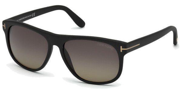 Tom Ford Herren Sonnenbrille »Mason FT0445«, schwarz, 02D - schwarz/grau