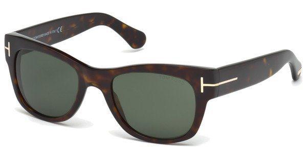 Tom Ford Herren Sonnenbrille »Cary FT0058« in 52N - braun/grün