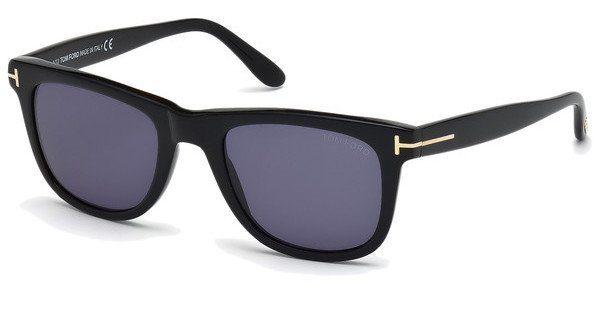 Tom Ford Herren Sonnenbrille »Leo FT0336«, schwarz, 01V - schwarz/blau