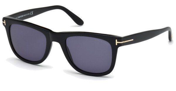 Tom Ford Herren Sonnenbrille »Leo FT0336« in 01V - schwarz/blau