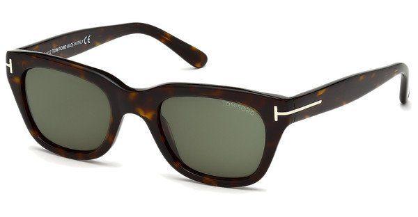 Tom Ford Herren Sonnenbrille » FT0595«, braun, 52N - braun/grün