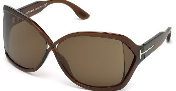 Tom Ford Damen Sonnenbrille »Julianne FT0427« in 48J - braun/braun