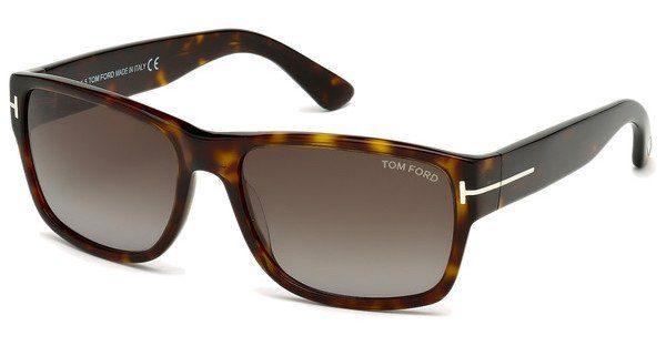 Tom Ford Herren Sonnenbrille »Mason FT0445«, braun, 52B - braun/grau