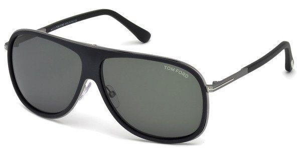Tom Ford Herren Sonnenbrille » FT0462« in 02N - schwarz/grün