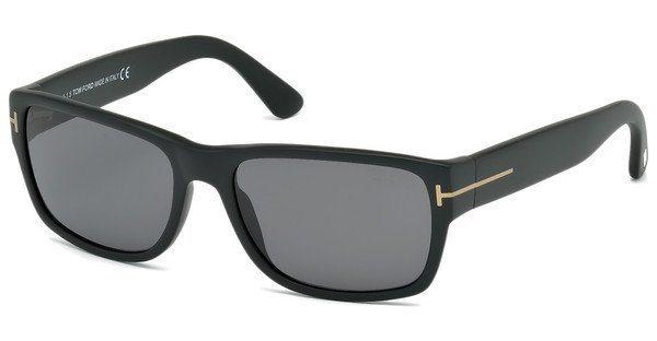 Tom Ford Herren Sonnenbrille »Mason FT0445« in 02D - schwarz/grau
