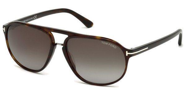 Tom Ford Herren Sonnenbrille »Jacob FT0447« in 52B - braun/grau