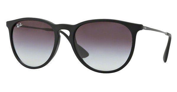 RAY-BAN Damen Sonnenbrille »ERIKA RB4171« in 622/8G - schwarz/grau