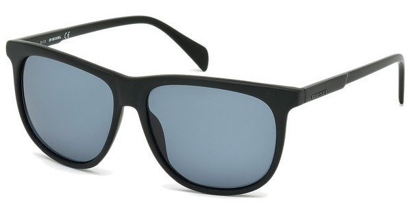 Diesel Herren Sonnenbrille » DL0155« in 02V - schwarz/blau