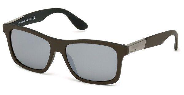 Diesel Herren Sonnenbrille » DL0184« in 98C - grün/grau