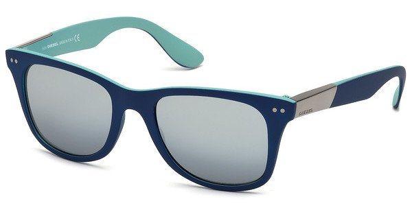 Diesel Sonnenbrille » DL0173« in 92C - blau/grau