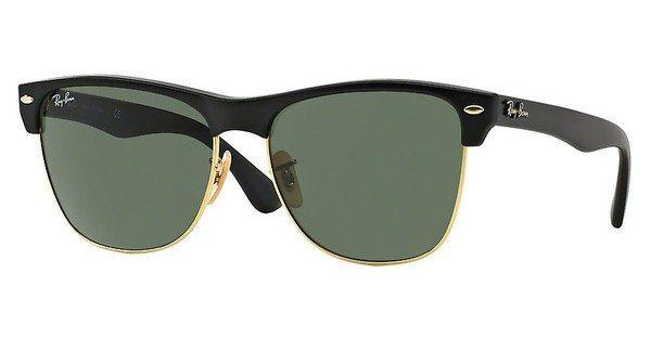 RAY-BAN Herren Sonnenbrille »CLUBMASTER OVERSIZED RB4175« in 877 - schwarz/grün