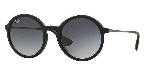 RAY-BAN Herren Sonnenbrille » RB4222« in 622/8G - schwarz/grau